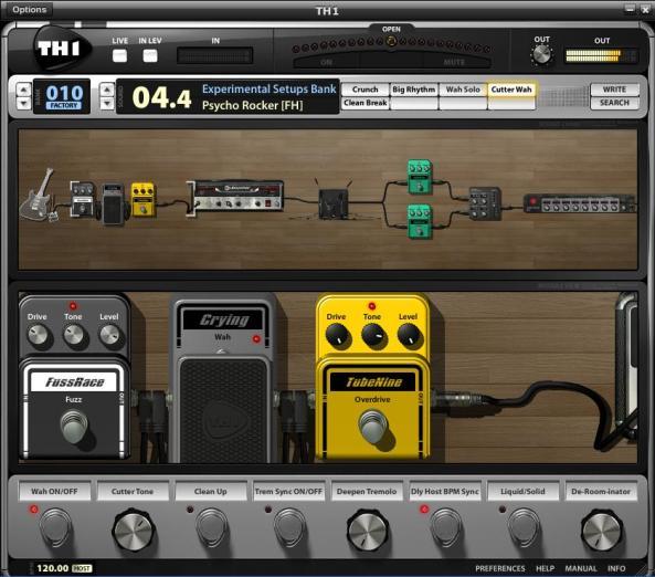 overloud th1 software efek guitar di pc coret maret si s4mb4l. Black Bedroom Furniture Sets. Home Design Ideas